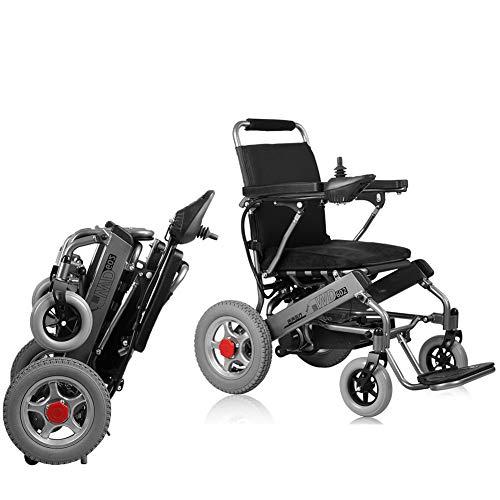 Compacto Portátil Kuigu Discapacitados Silla Ligero Para Ruedas Inteligente Plegable De Coche Ayuda EléctricaAnciano sQrxtCdh