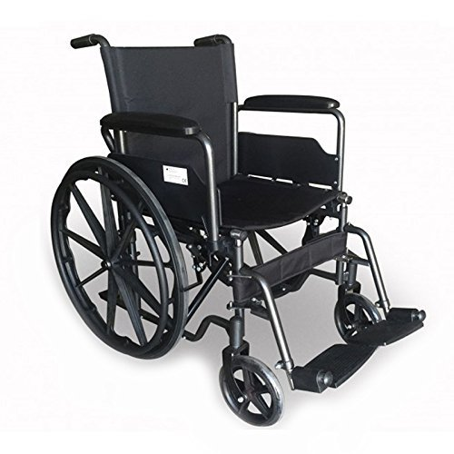 Cm 43 Seat S220 Folding WheelchairModel With Seville Steel IYgvmb6f7y